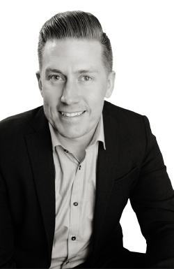 Shaun Biberston, real estate agent